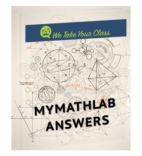 MyMathLab Homework